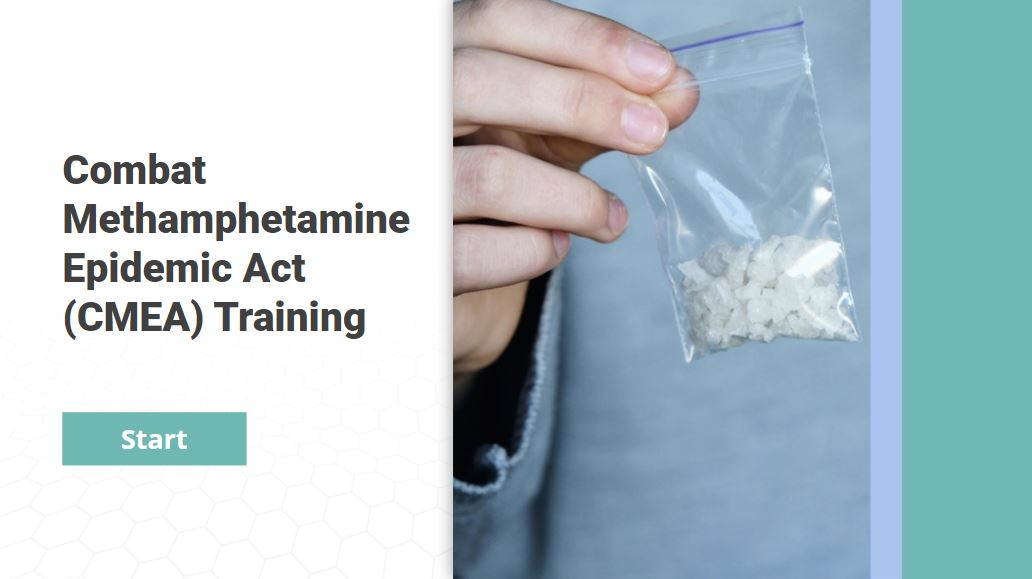 Pseudoephedrine Training