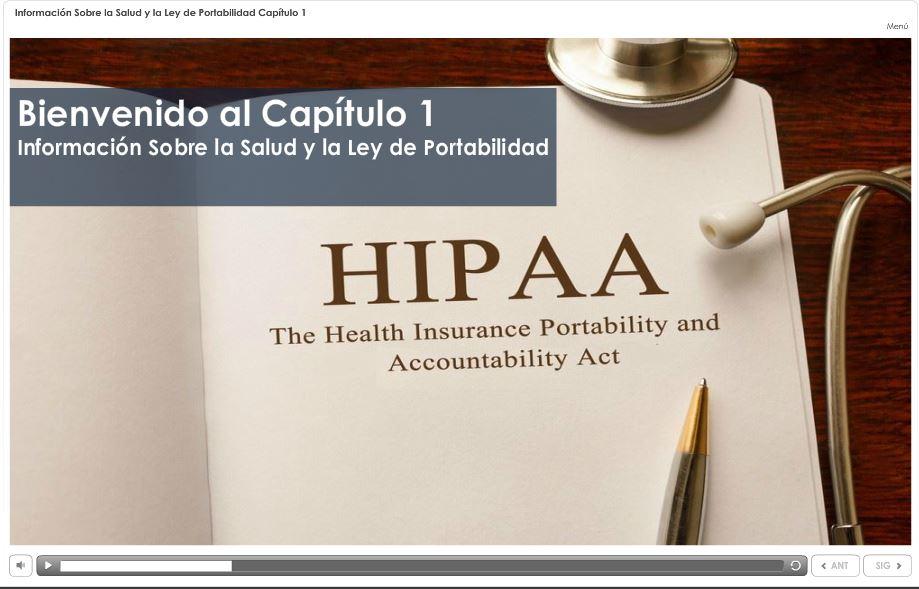 Información sobre la Salud y la Ley de Portabilidad
