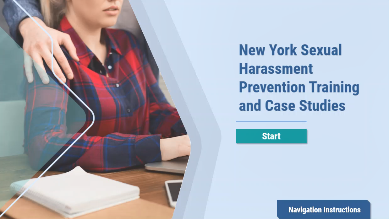 NY Sexual Harassment Prevention Training
