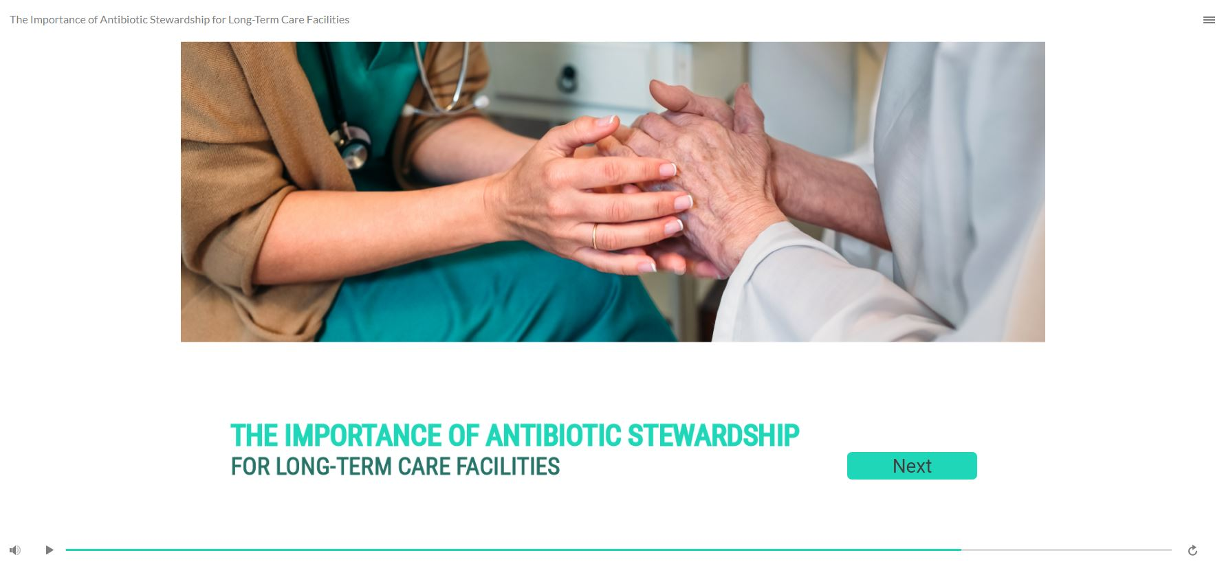 The Importance of Antibiotic Stewardship for Long-Term Care Facilities