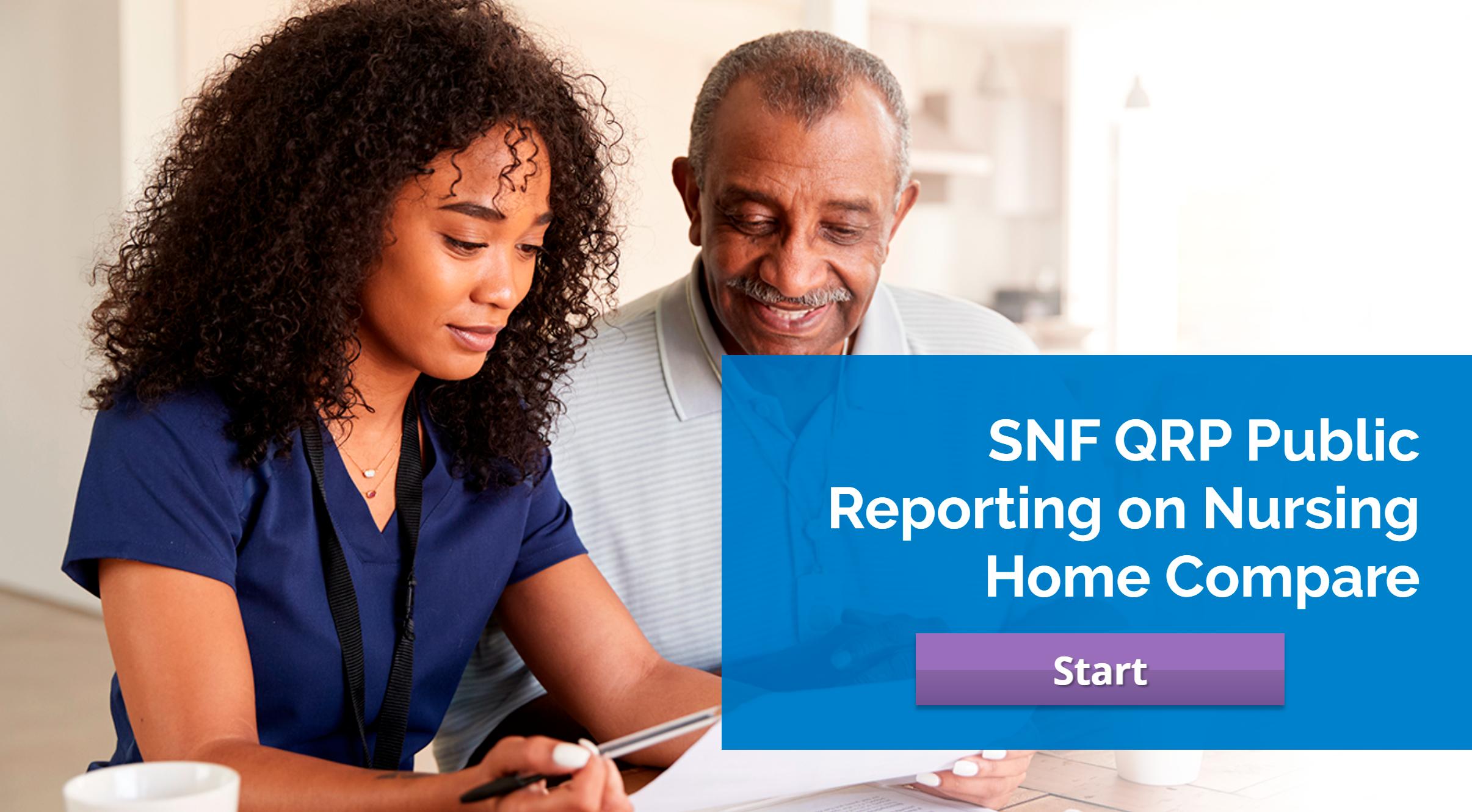 CMS SNF QRP: Nursing Home Public Reporting