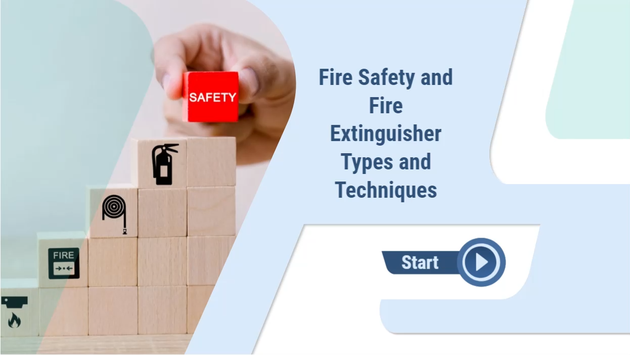 Fire Safety and Fire Extinguisher Types