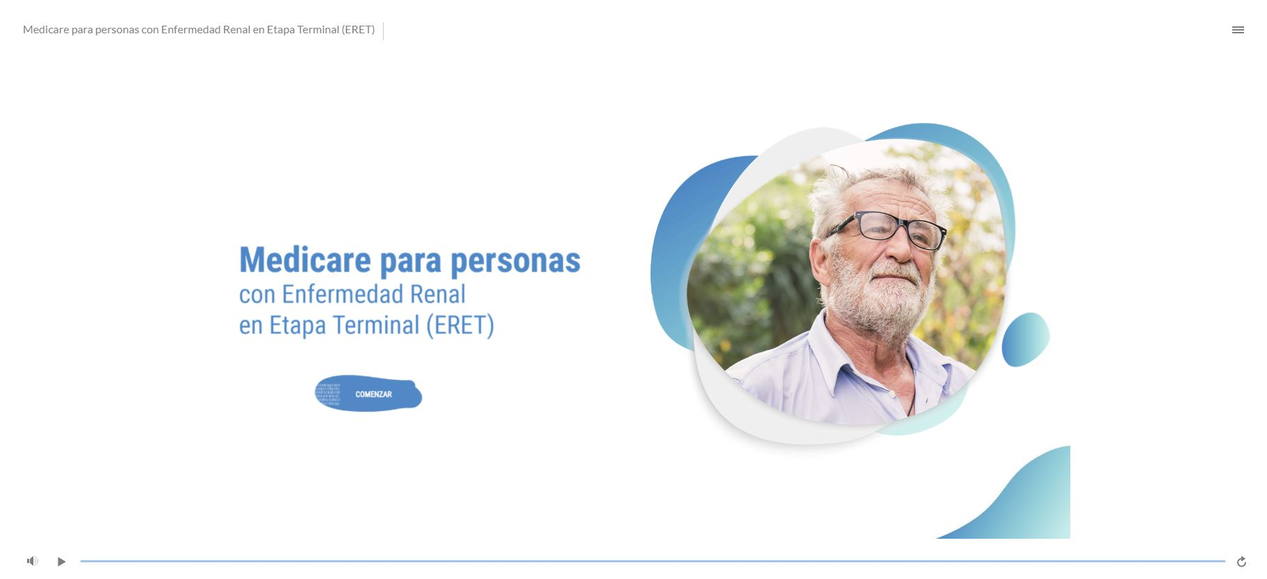Medicare para personas con Enfermedad Renal en Etapa Terminal (ERET)