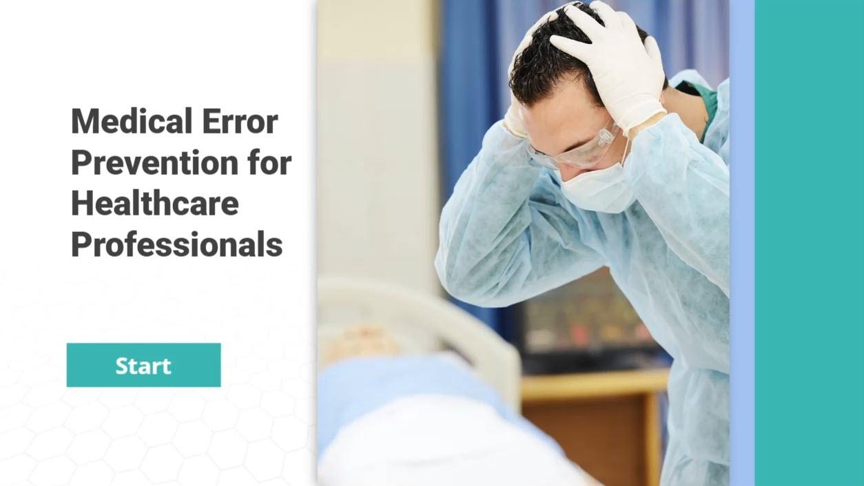 Medical Error Prevention for Healthcare Professionals – CME Version