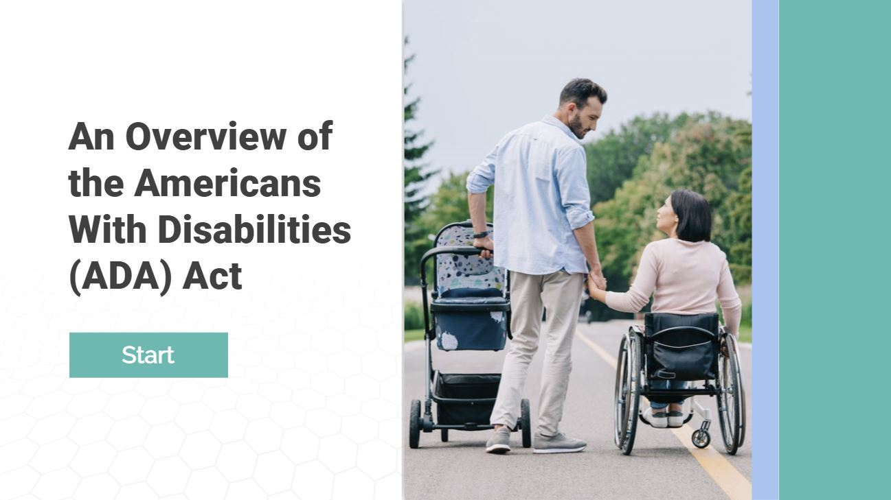 An Overview of the American with Disabilities Act