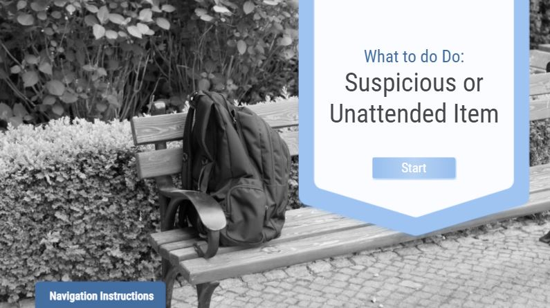 What to Do: Suspicious or Unattended Item