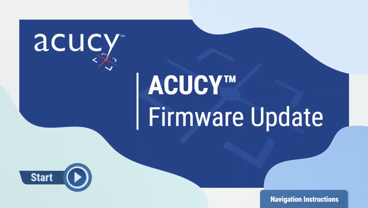 ACUCY™ Firmware Update