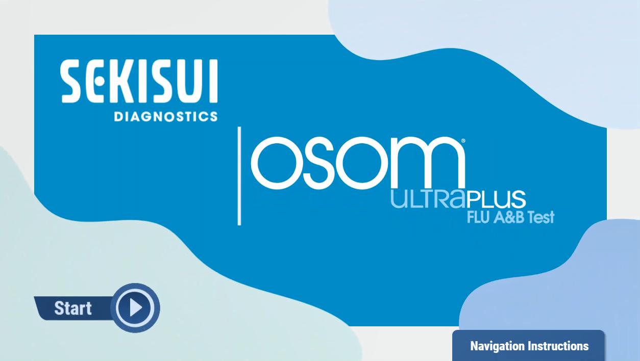 OSOM® Ultra Plus Flu A&B Test