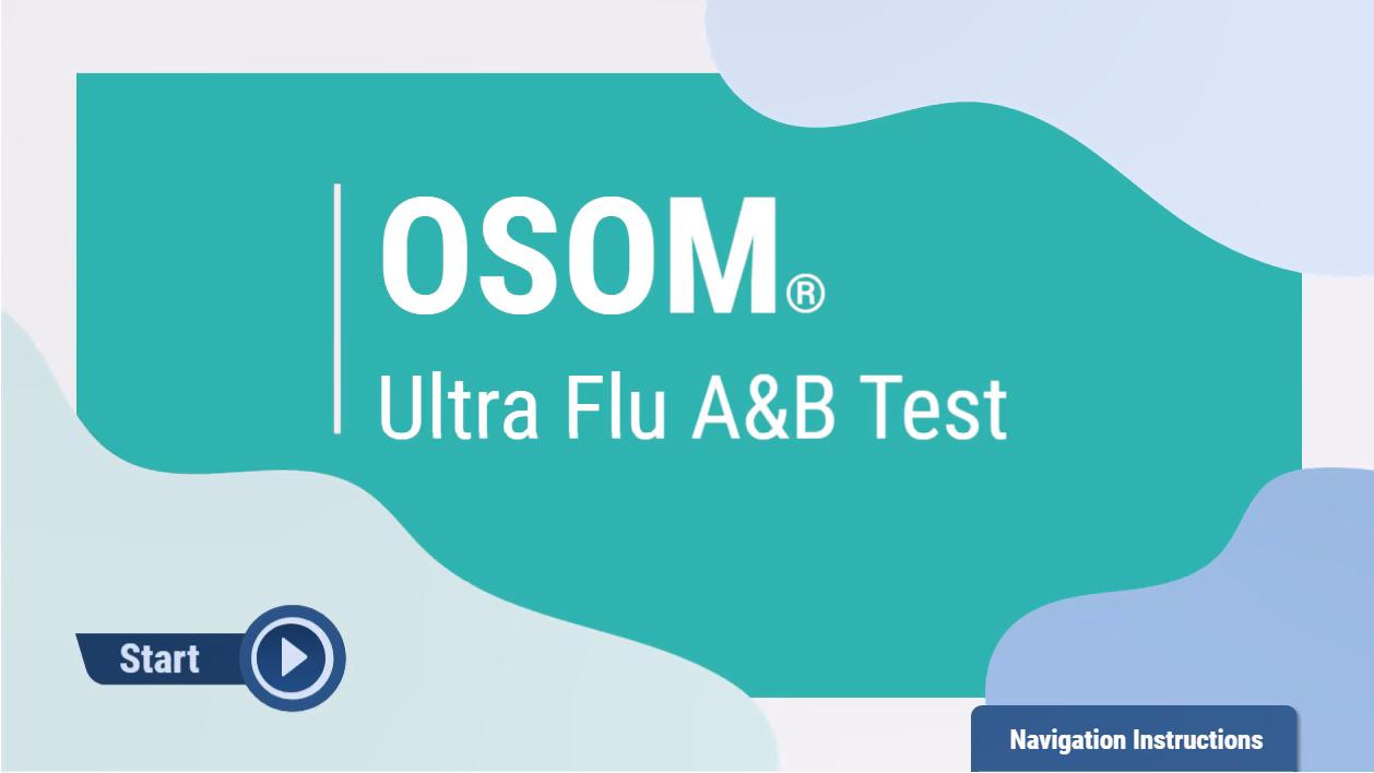 OSOM® Ultra Flu A&B Test