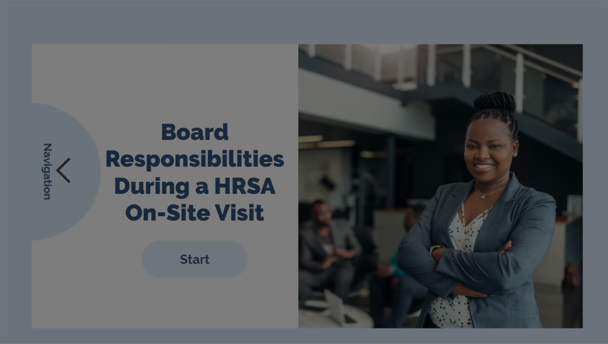 Board Responsibilities During a HRSA On-Site Visit